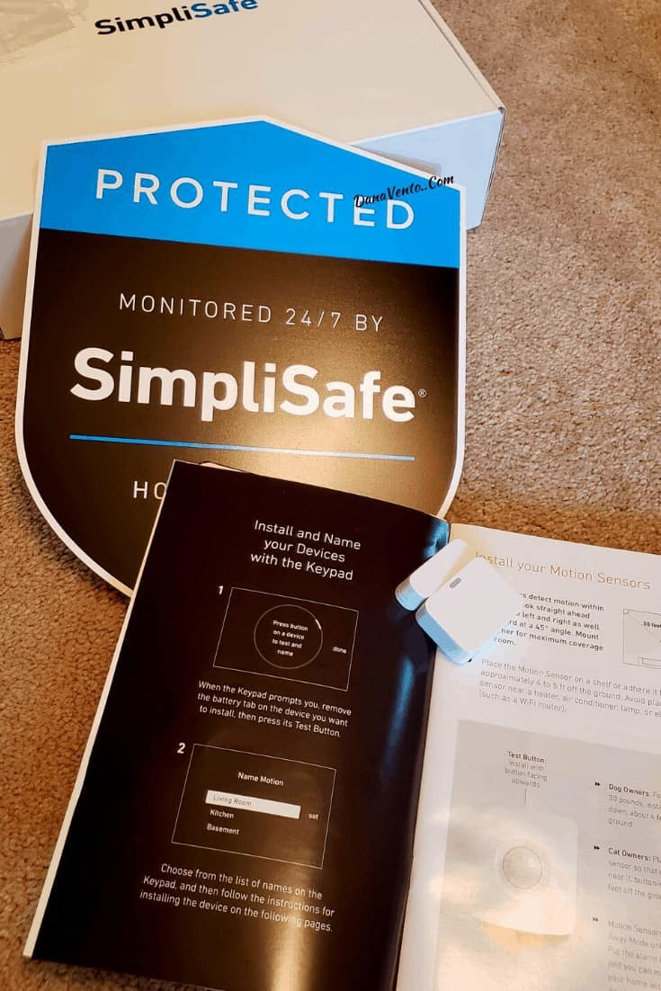 simplisafe in box