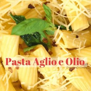Authentic Pasta Aglio e Olio in a Pressure Cooker