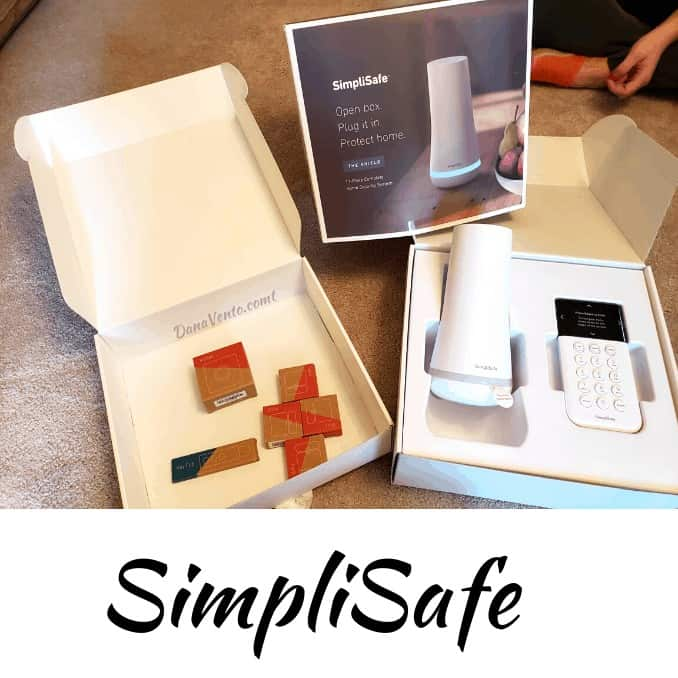 simplisafe in box before installation