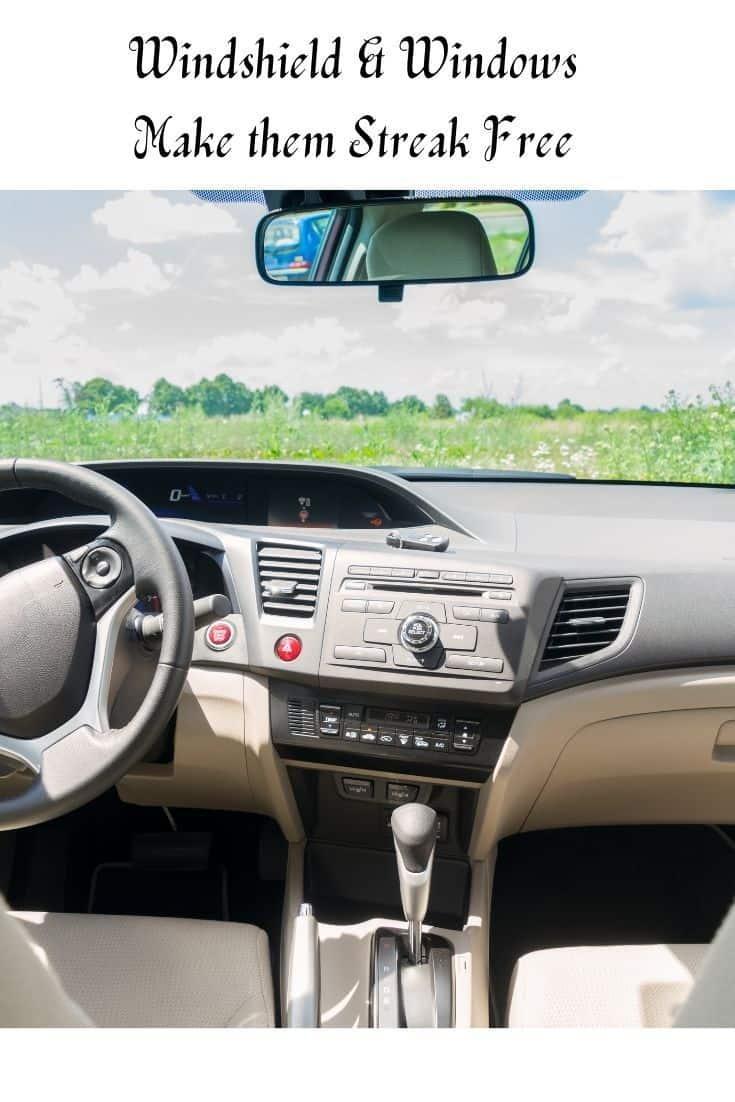 streak-free windshieldS and windows