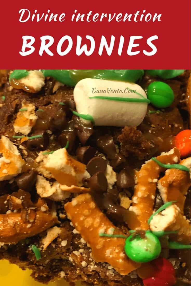 Divine Internvention Brownie PIece Close Up