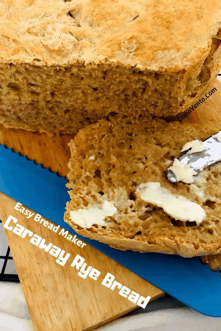 Easy Bread Machine Caraway Rye Recipe