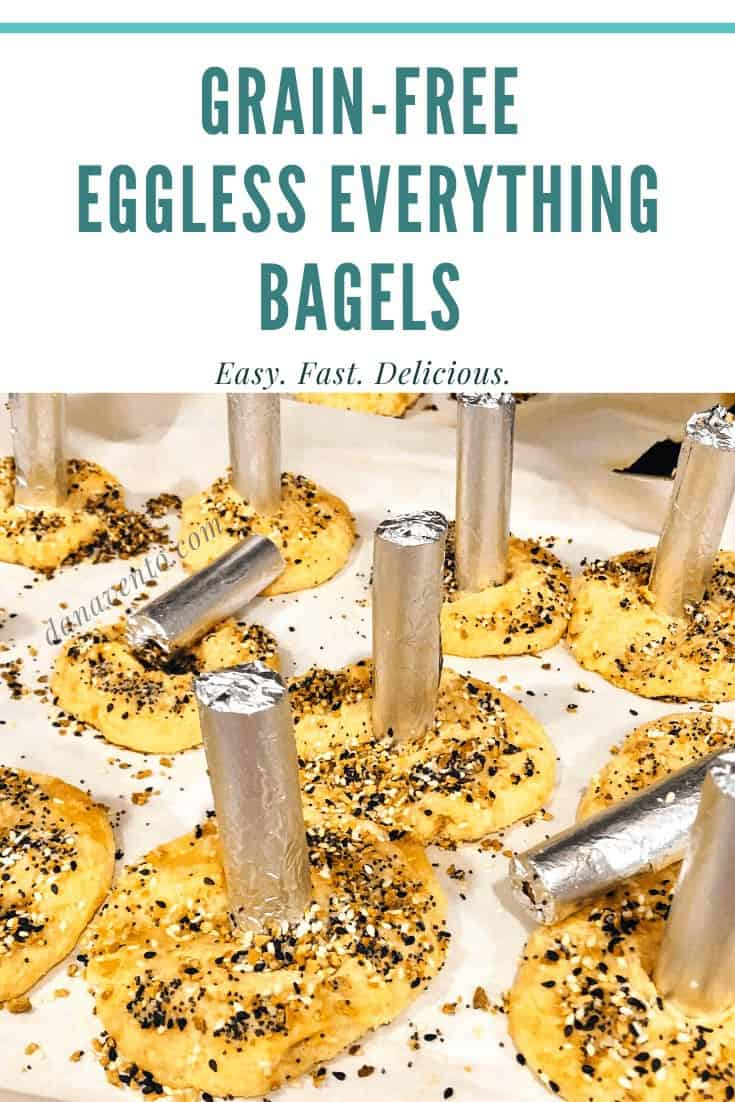 Eggless Everything Bagels