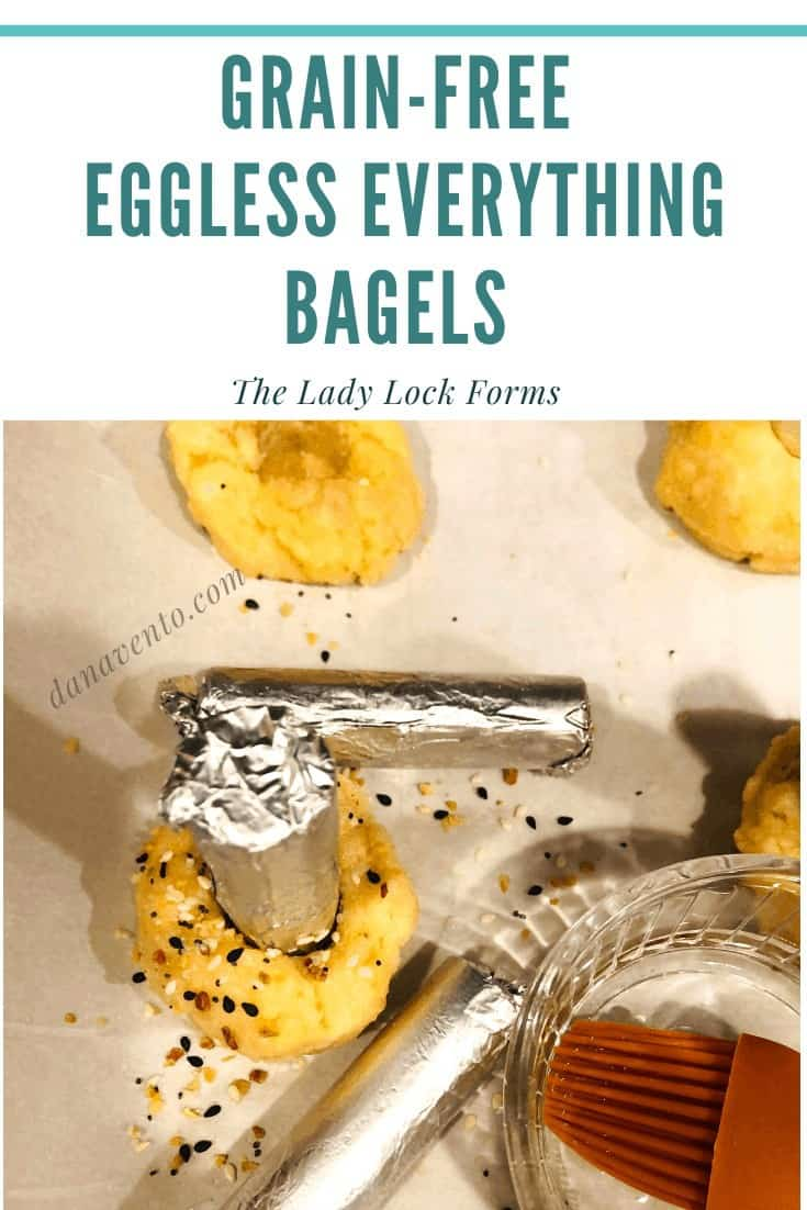 Hunger Inspired Grain-Free Eggless Everything Bagels, grain-free, gluten free, bagels, eat well, eat clean, low carb, low sugars, mix, measure, eggless, no eggs, egg-free, cheese, cook, bake, oven, fresh, homemade, Paleo, KETO, Vegetarian, simple, freshest ever, Everything But The Bagel, Everything Spice, mixing, hand mixing, no mixer, roll, form, hole, pins, forms, cheesy