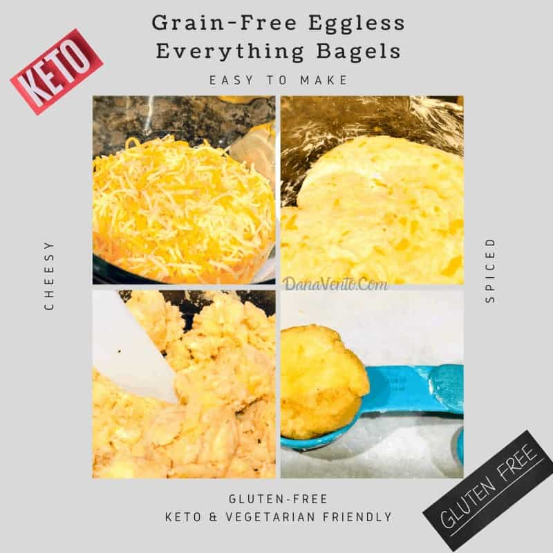Grain-free bagels by Dana Vento