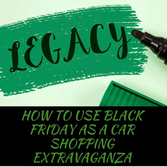 How To Use Black Friday As A Car Shopping Extravaganza