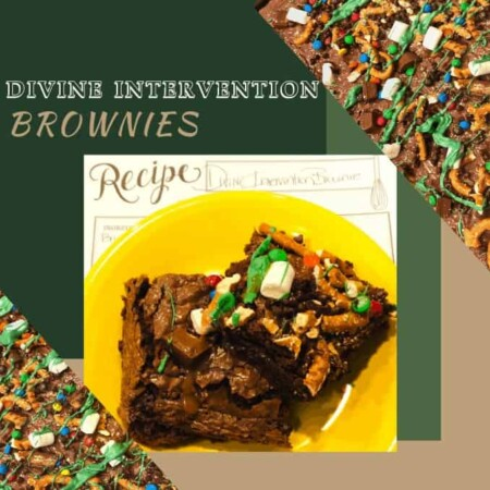 Scrumptious Divine Intervention Brownies, sweet, saltly, chocolate, drizzle, caramel, melted chocolate, by the pan, by the piece, baking, baking recipe, brownies, brownie recipe, DIY Recipe, Recipe Video, Brownie making, brownie option, marshmallows, holidays, desserts, chunks, bad days, binging, cheat day treats, nom nom nom
