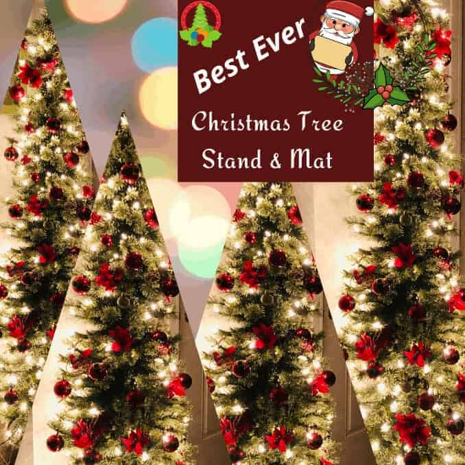 Best Ever Christmas Tree Stand and Mat