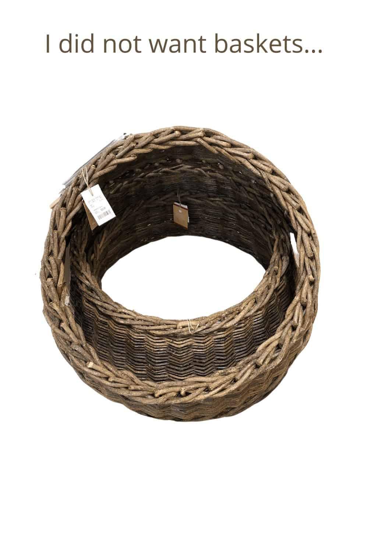 tree collar baskets