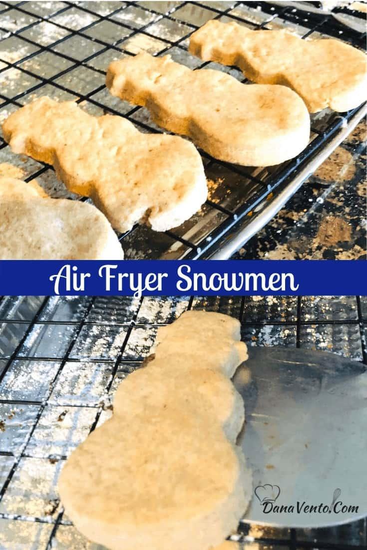 Air Fryer Snowmen width shot