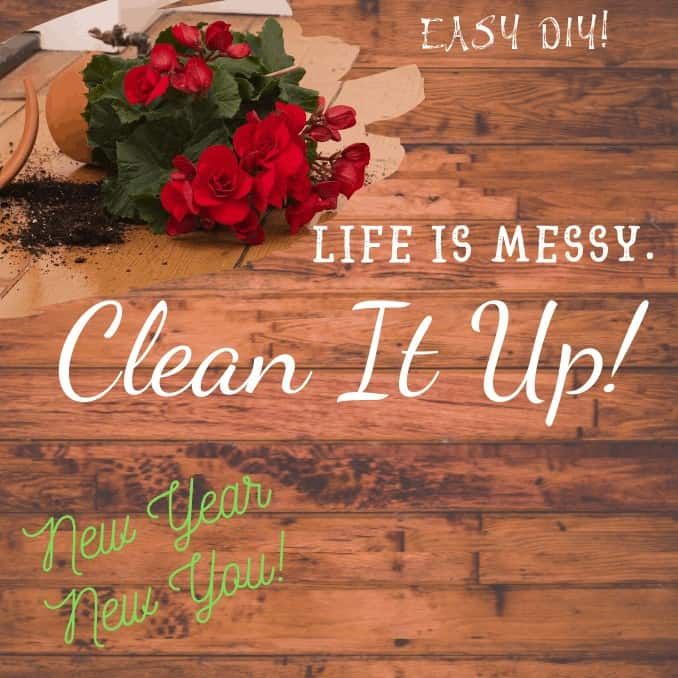 new year, new you, clean life up