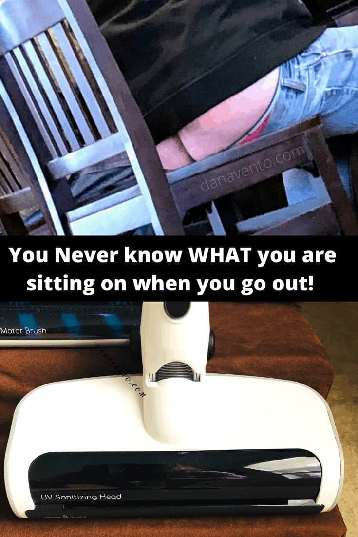 butt on chair in restaurant