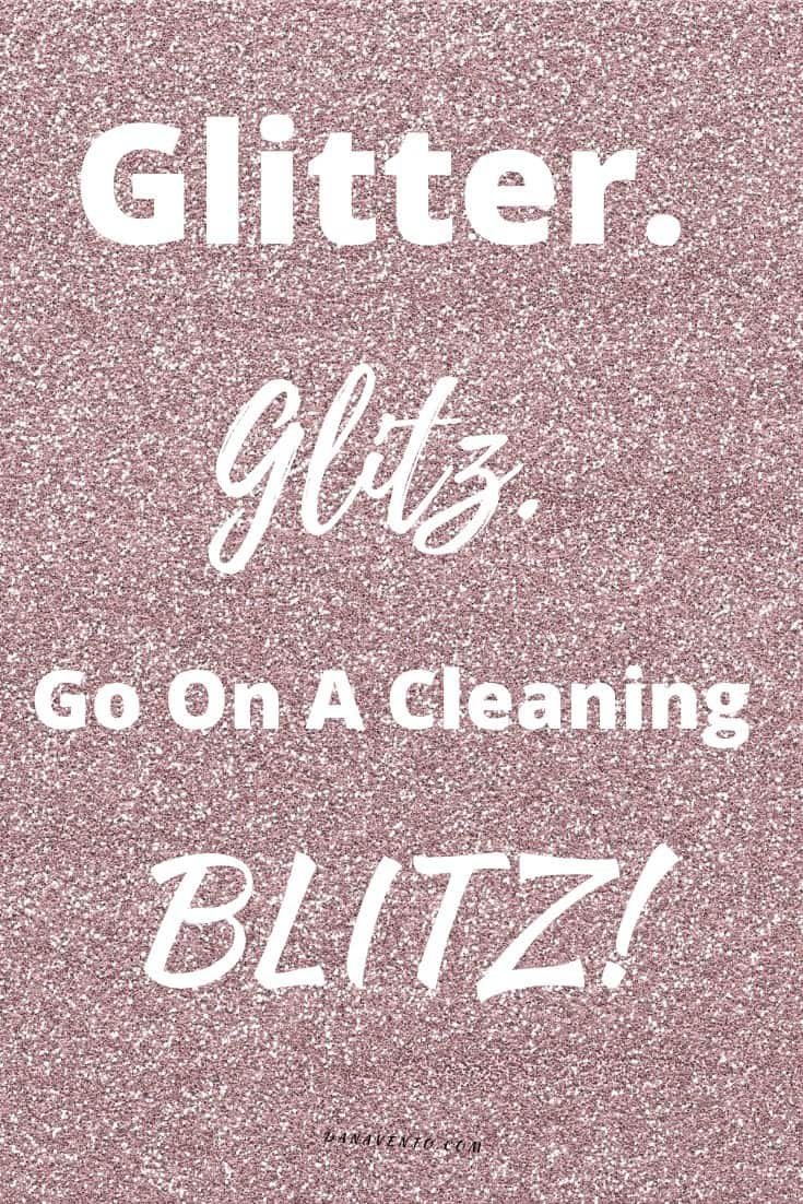 Glitter Cleanup and Raycop
