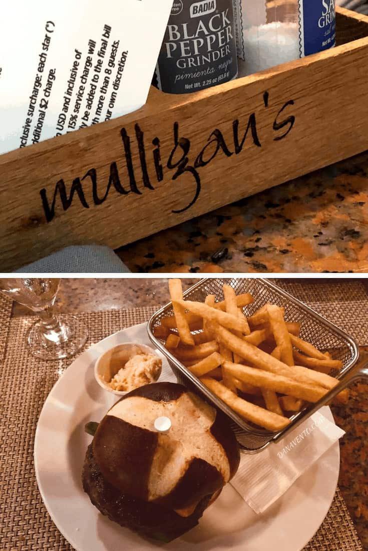 Mulligan's Burger  Aruba Resort Eats