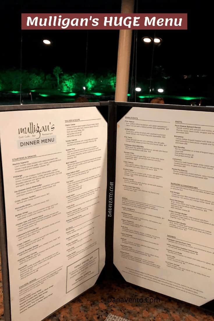 Mega All-Inclusive package includes Mulligan's Divi Village Resort
