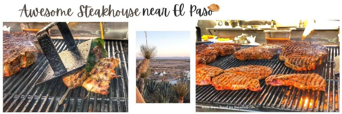 Awesome steakhouse near El Paso Grilling and scenery Cattlemans Ranch