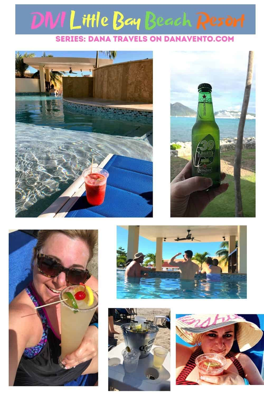 Divi Little bay Beach Drinks All Inclusive St Maarten Resort