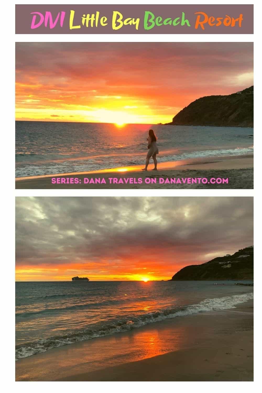 Divi St Maarten Beach sunset