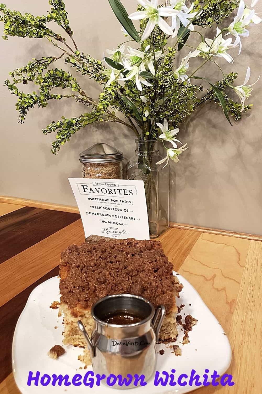 HomeGrown Wichita Coffee Cake