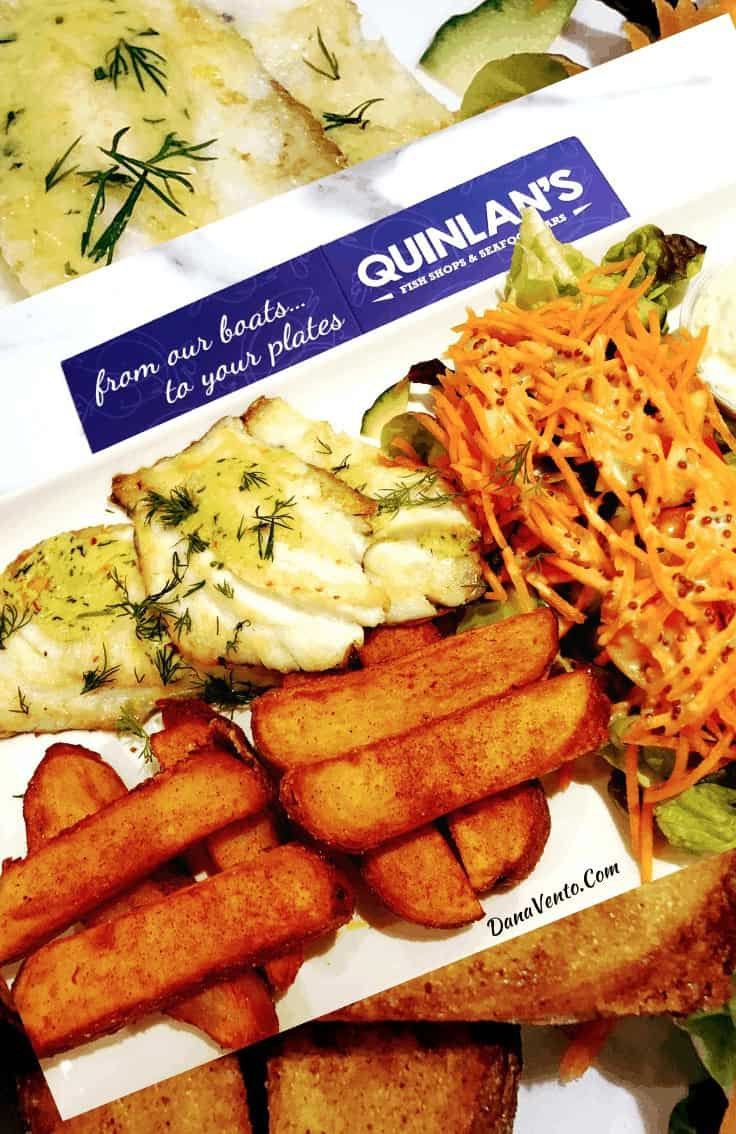 Meal at Quinlan's Seafood Killarney