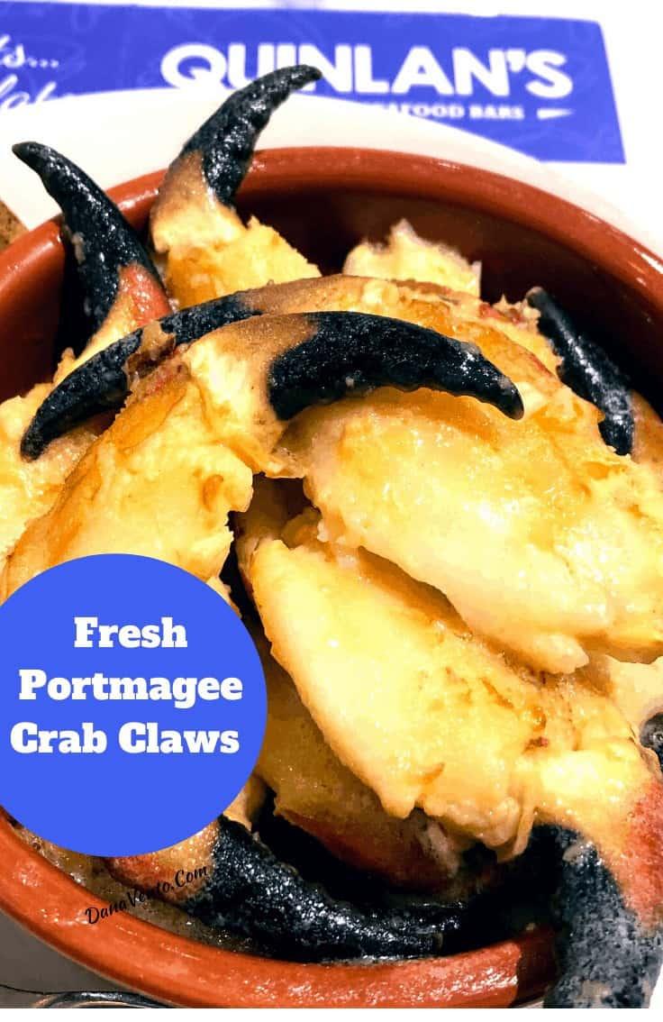 Portmagee Crab Claws Killarney at Quinlan's Seafood Bar