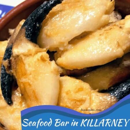 Seafood in Killarney at Quinlan's Seafood Bar