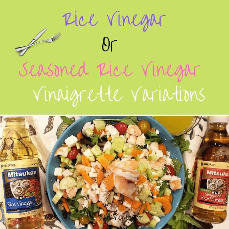 variations of rice vinegar