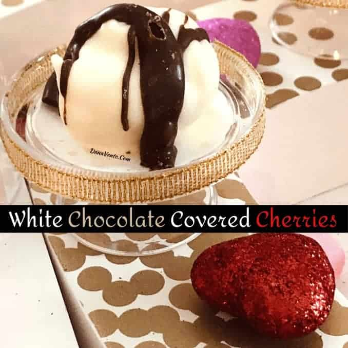 Delectable White Chocolate Covered Cherries