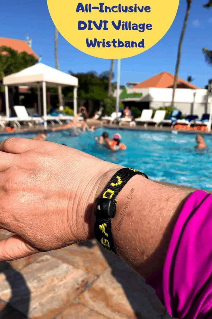 Aruba Resort Mega All Inclusive Package.  Divi Village Golf and Beach Resort band