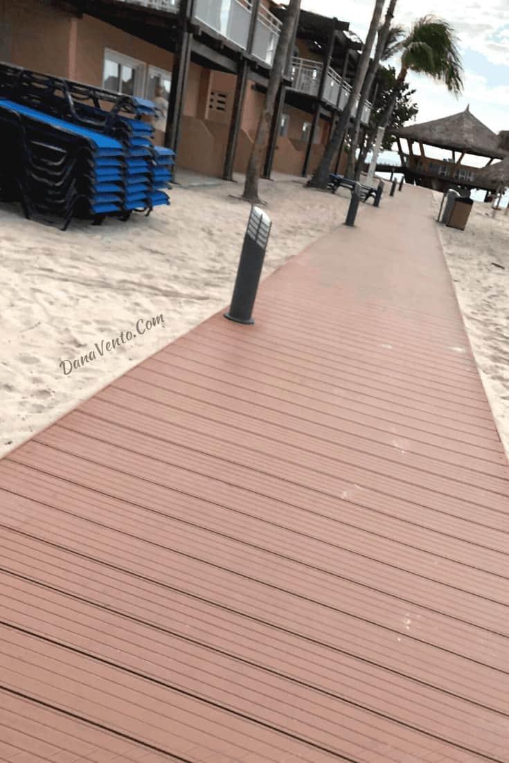boardwalk by Divi Resorts  walking