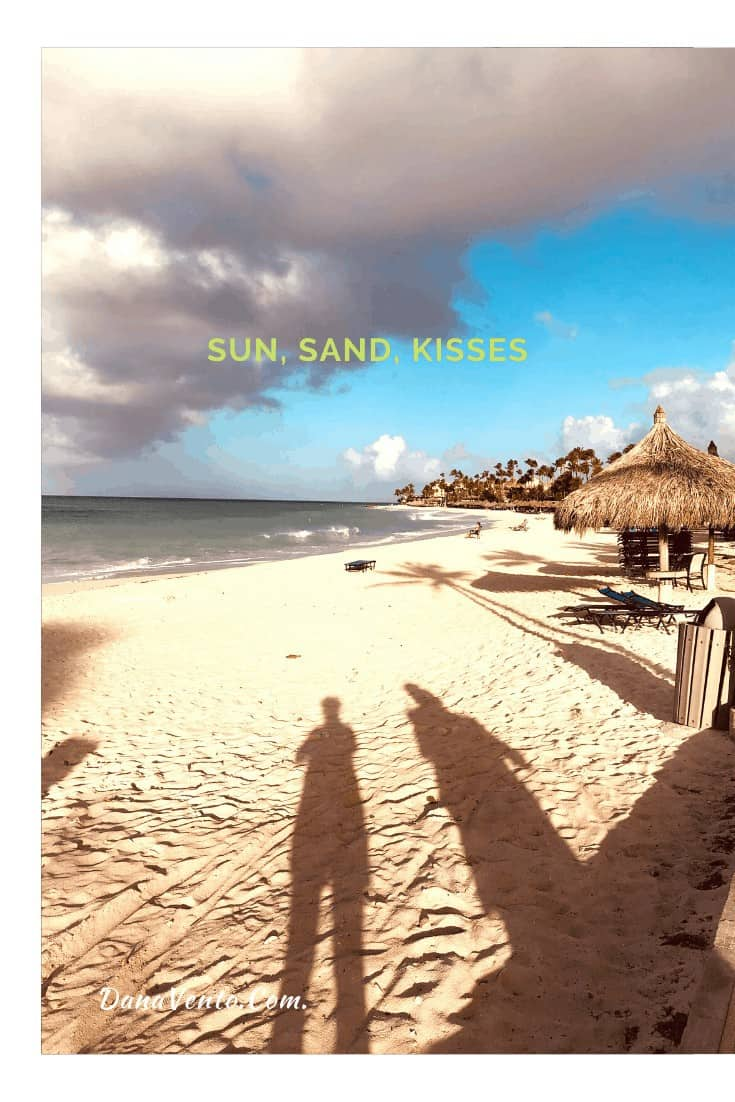 Walking on Divi Beach Resorts