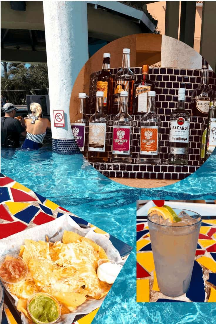 Infinty Pool Drinks with food mega all-inclusive package