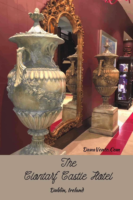 vases front entrance