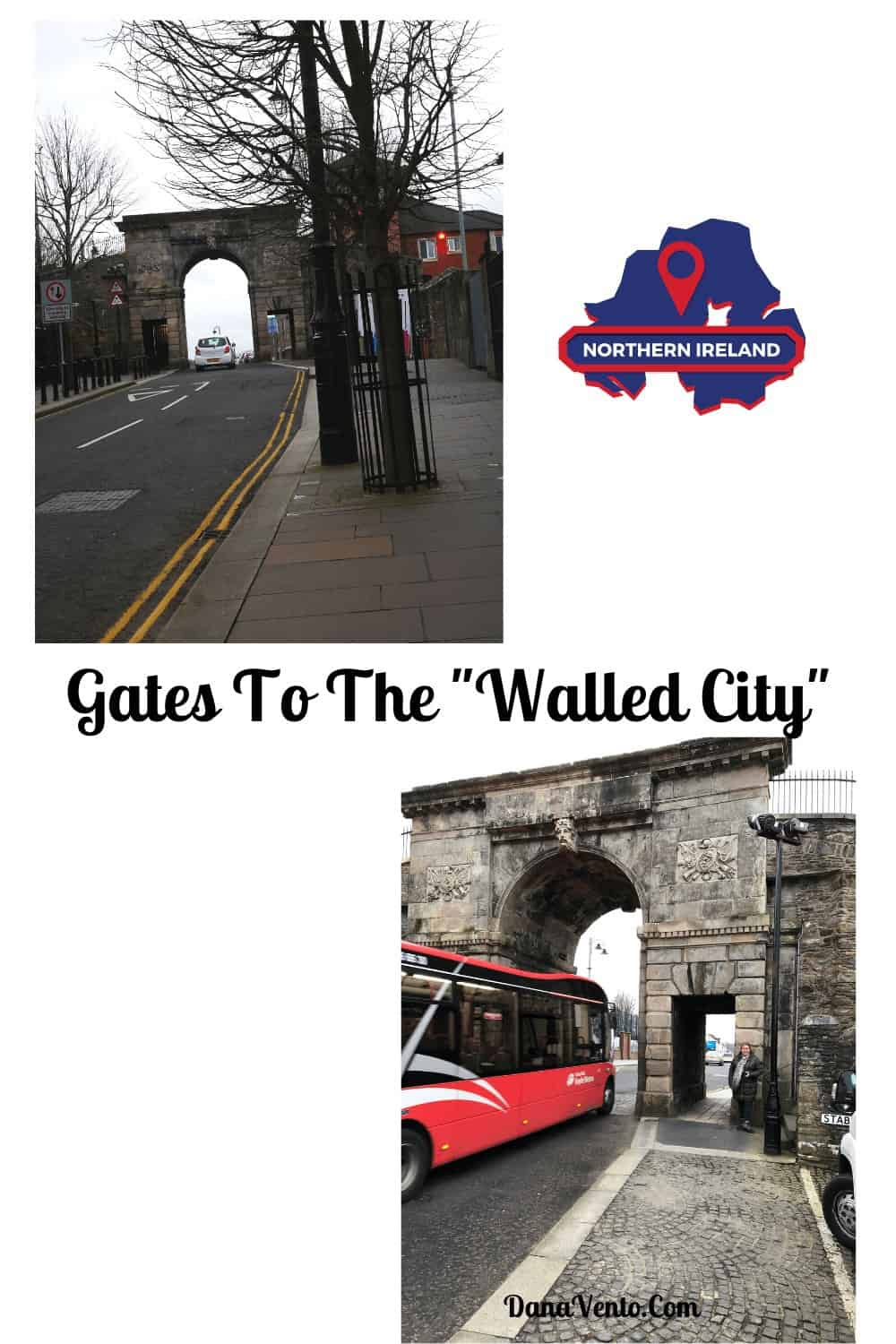 Gates To The Walled City Walls of Derry