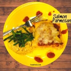 Salmon parmesan main image