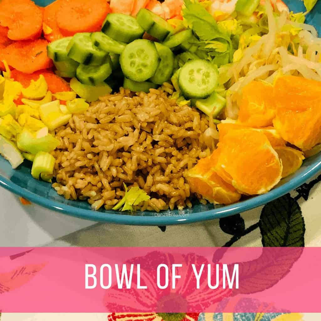 What's in a big bowl of Yum, Noom Green Meal Recipe