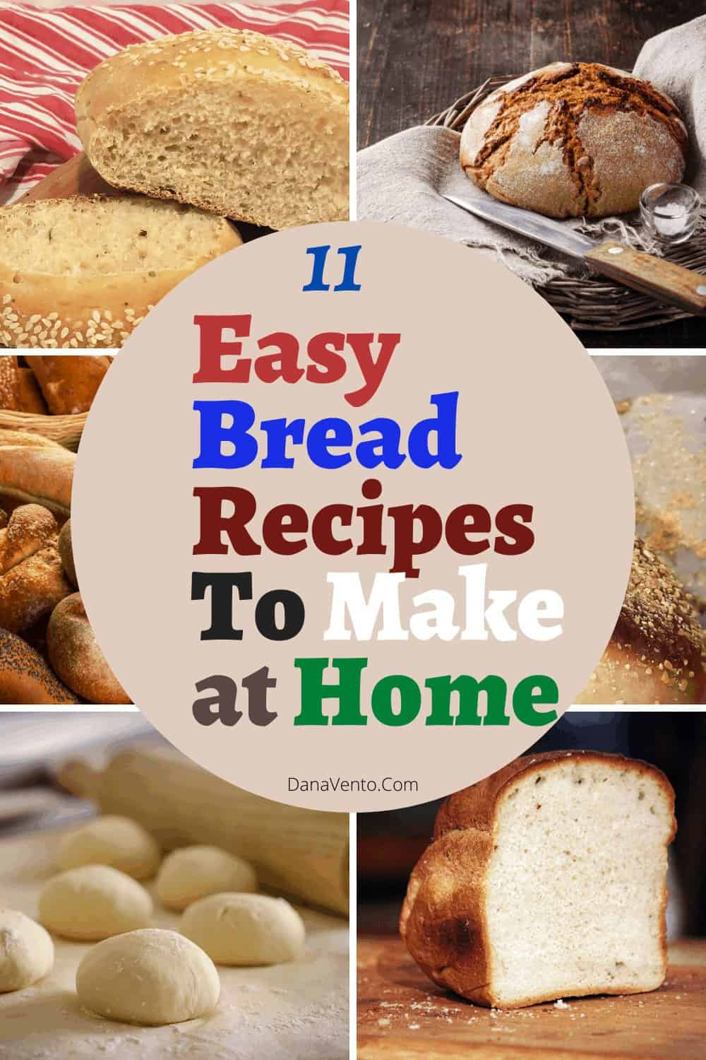 11 easy bread recipes to make at home