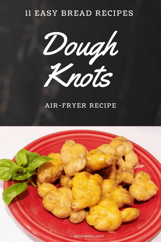 Air Fryer Garlic Knots