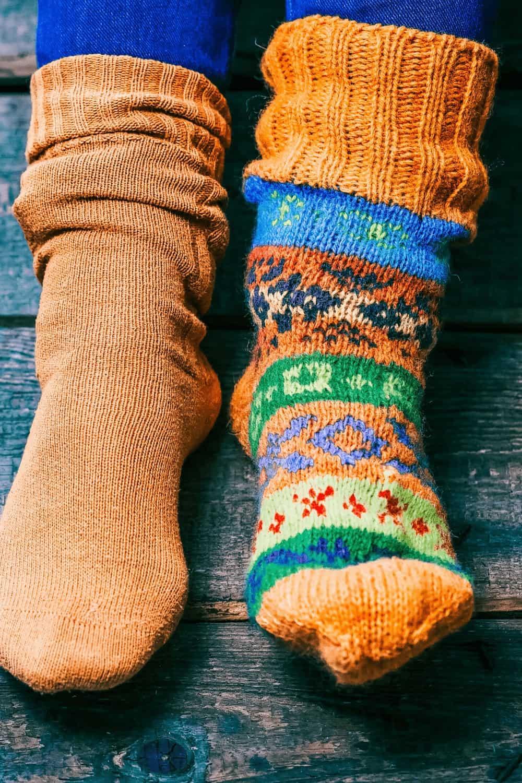 diy activities organizing socks