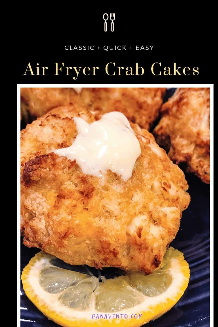 air fryer crab cake