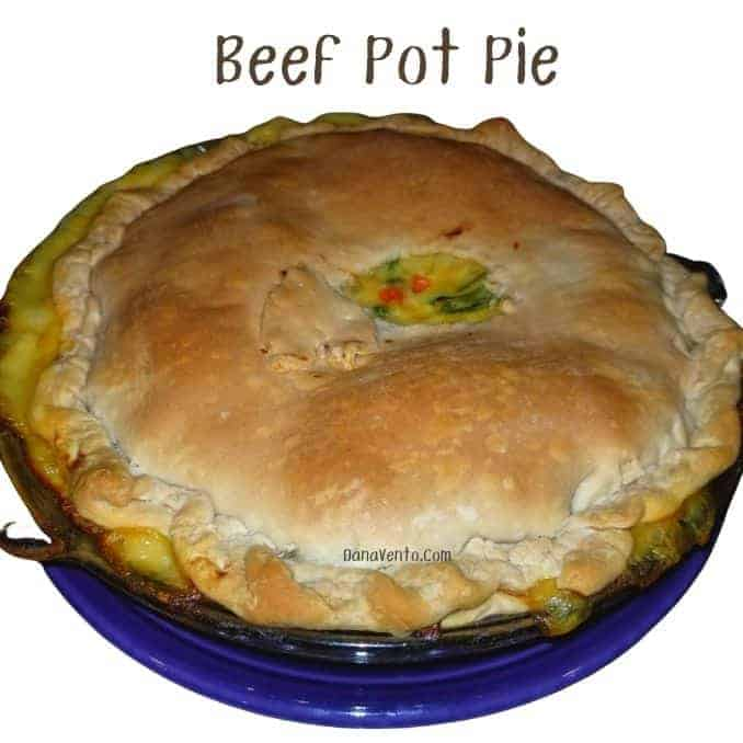 Mouthwatering Beef Pot Pie with Simple Ingredients