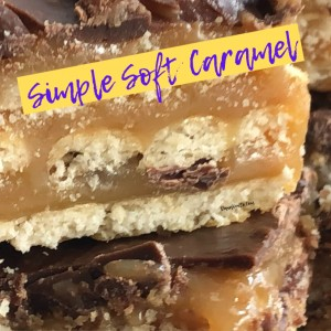 caramel up close