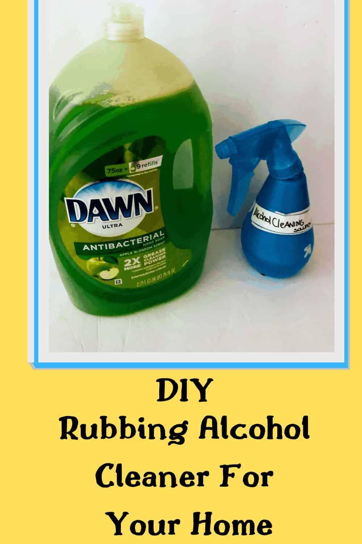 rubbing alcohol mixture