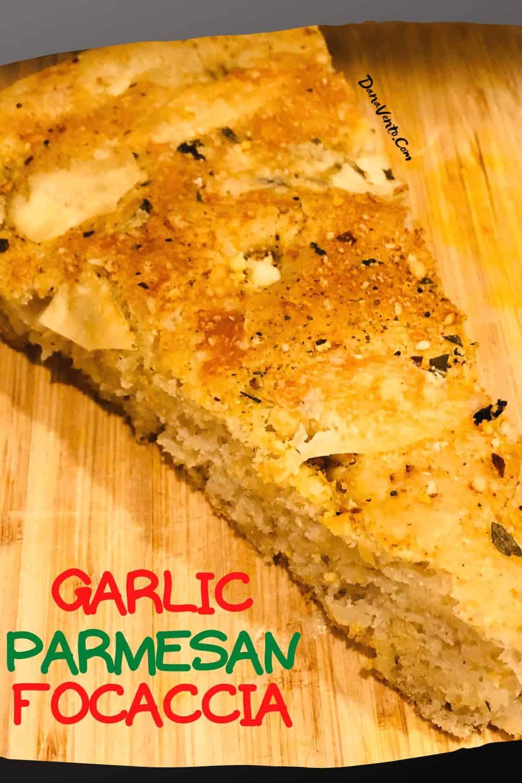 slice of Focaccia Bread