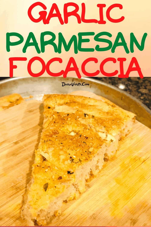 Focaccia Bread baked