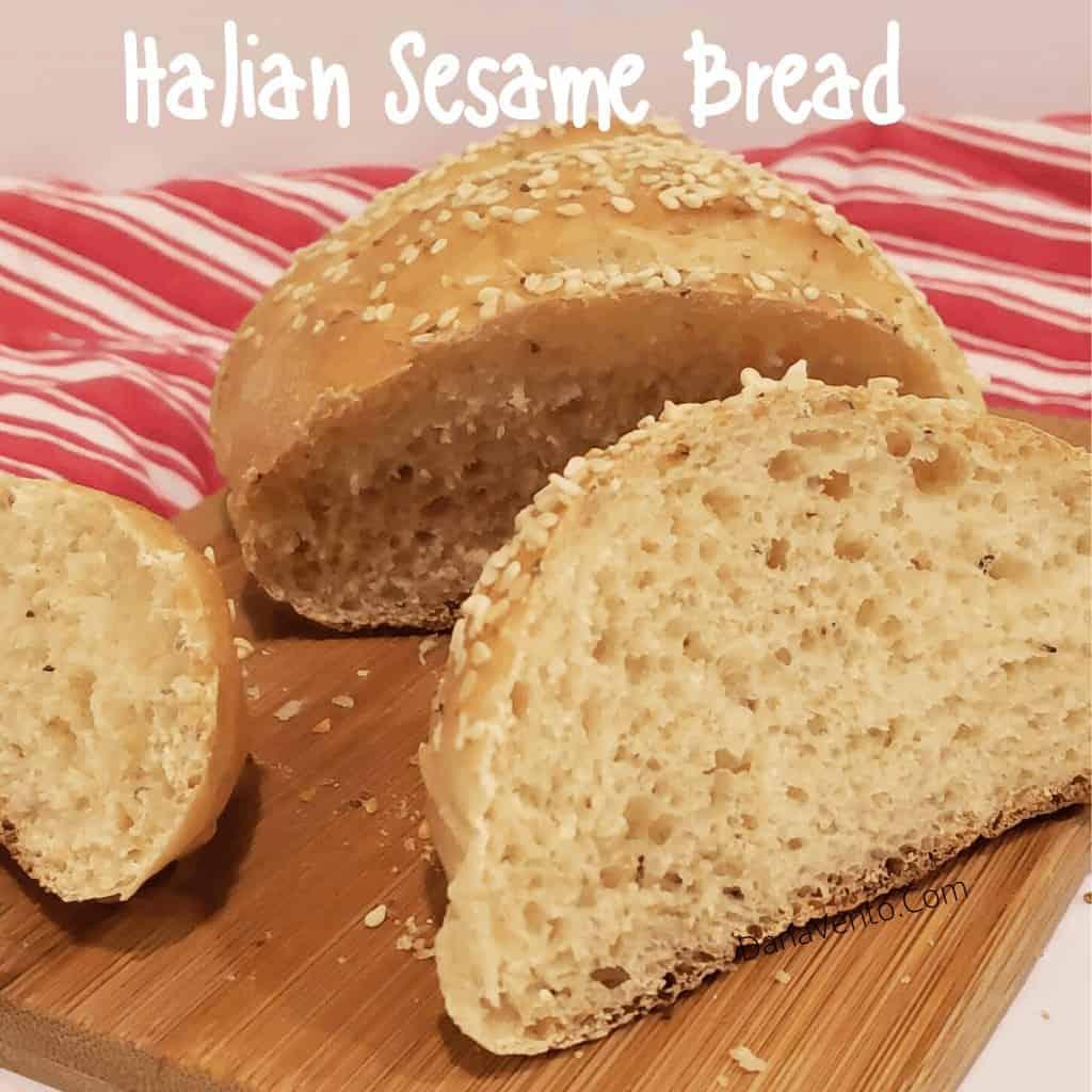 Italian Bread sliced