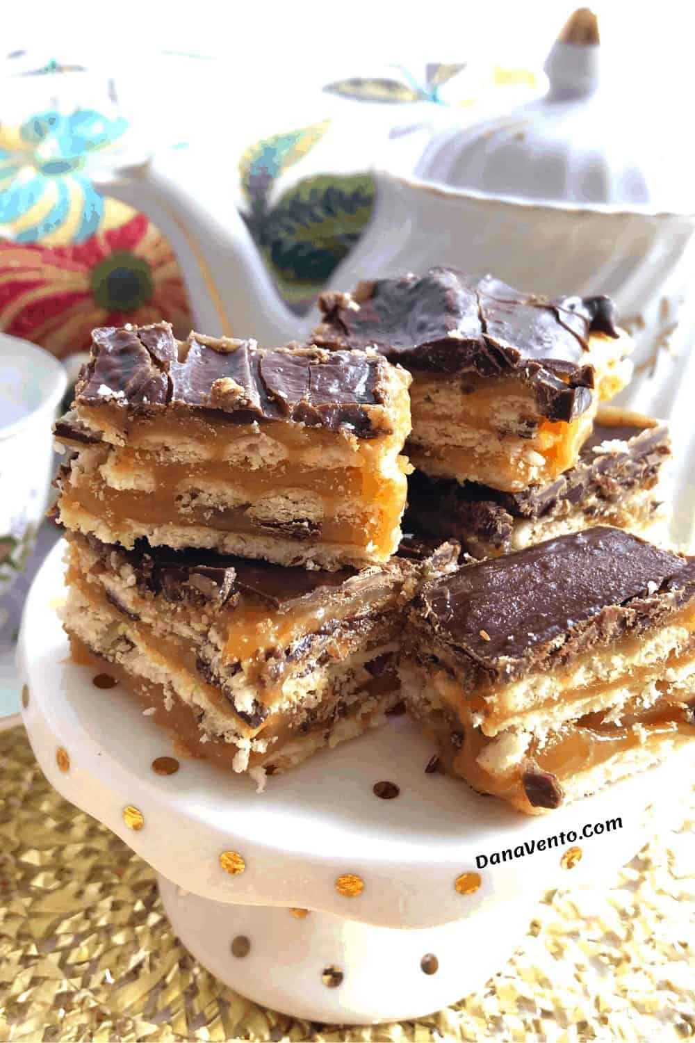 no bake buttery cracker bars