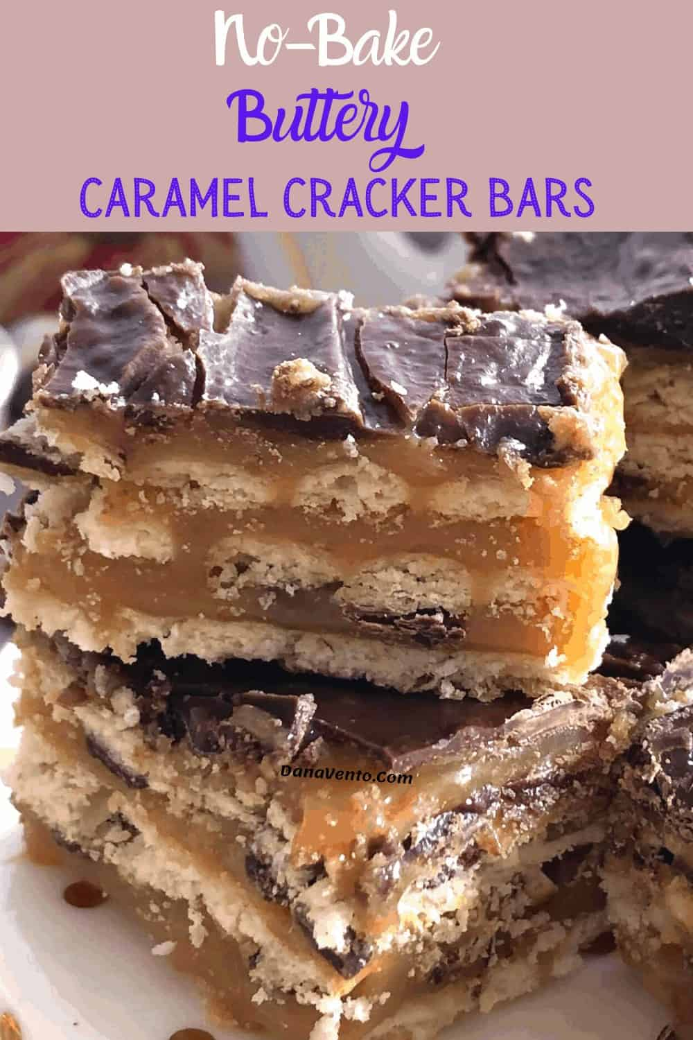 no-bake caramel bar