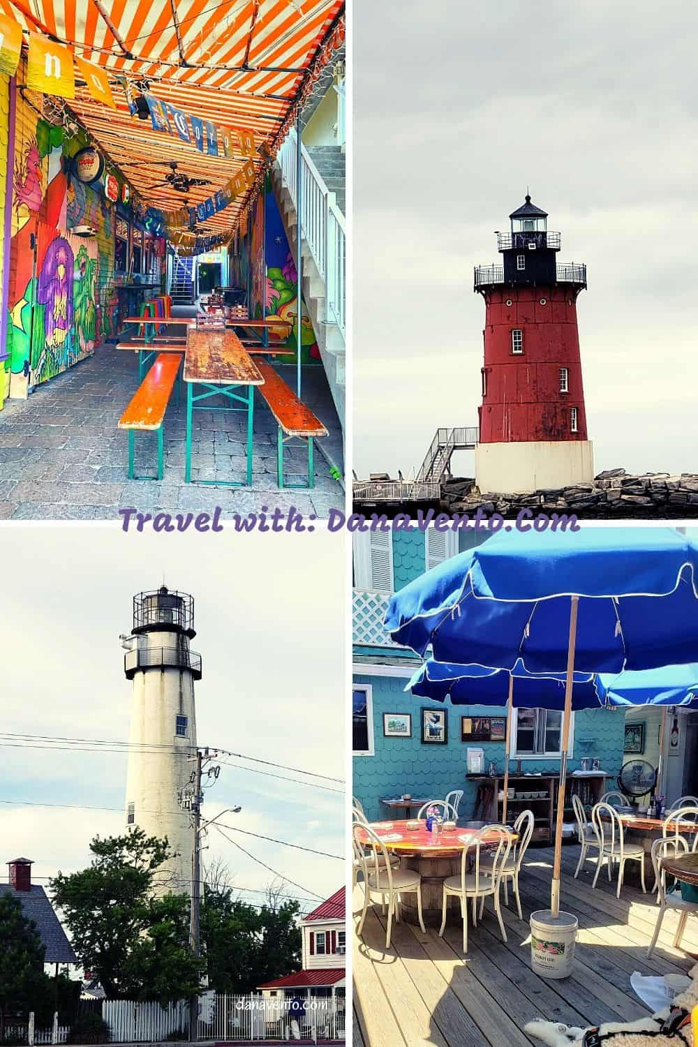 Southern Delaware Beach Town Eats lighthouses to street scenes