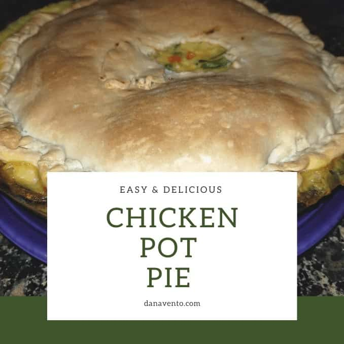 chicken pot pie to enjoy